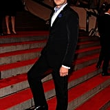 And in 2010, he also worked the steps of his first Met Gala. Have mercy.