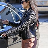 Kourtney Kardashian Showing Her Stomach in LA Pictures