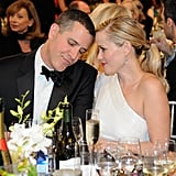 Reese Witherspoon and her husband, Jim Toth, shared a sweet moment at their table.