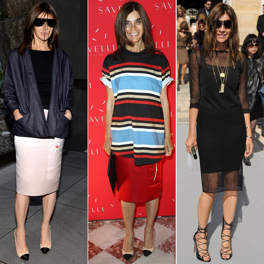 Carine Roitfeld Best Outfits | Pictures