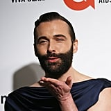 Jonathan Van Ness at the Elton John AIDS Foundation Oscars Party