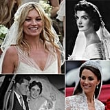 Bridal beauty trends come and go, but there are a few women whose trips down the aisle are constantly recalled for inspiration. Head to POPSUGAR Beauty for their retrospective of the most iconic bridal moments in history.