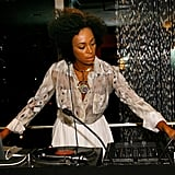 Solange Knowles provided the music at Roberto Cavalli's FNO party in 2010.