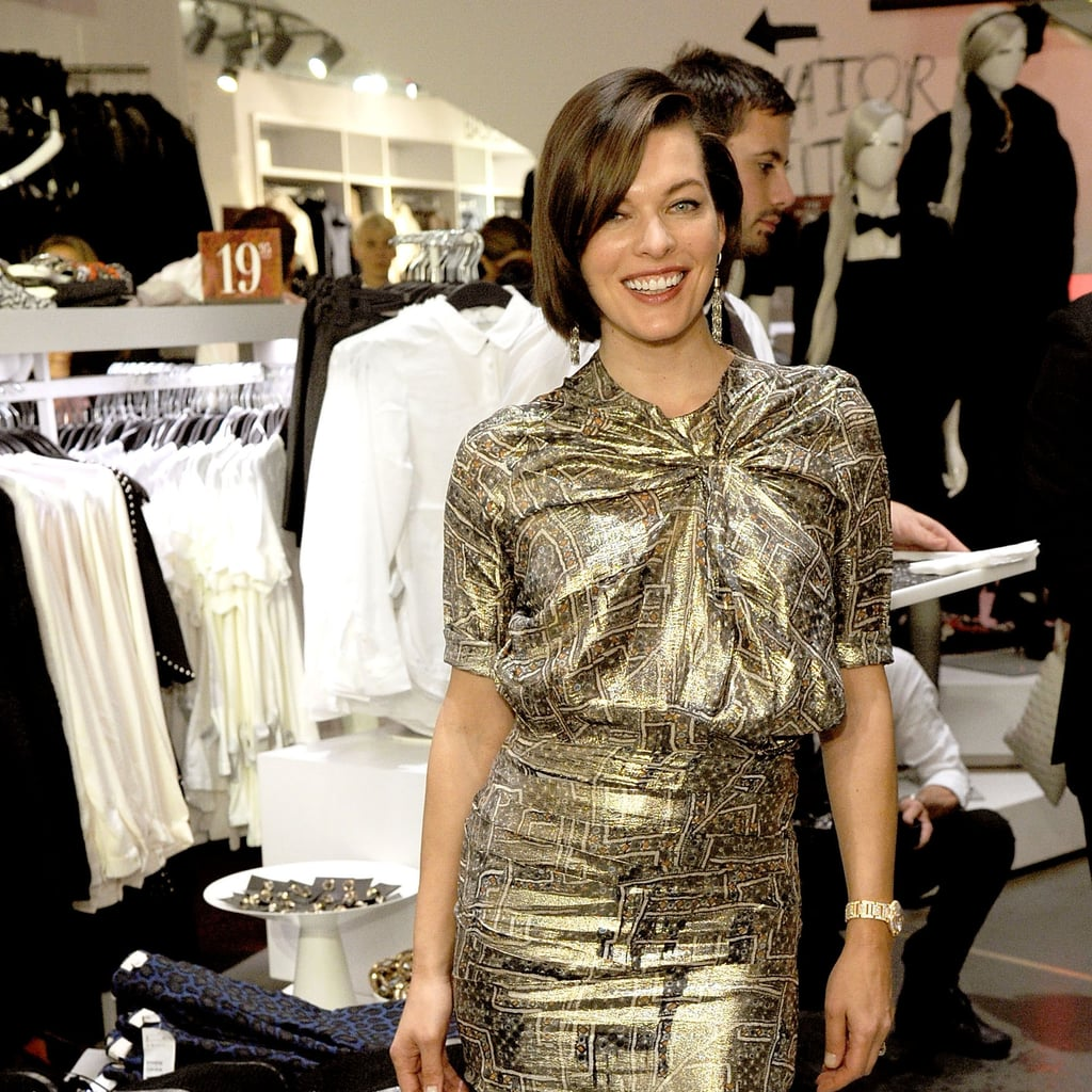 Milla Jovovich on H&M and Isabel Marant Collaboration