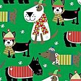 Christmas Dog Gift Wrap Roll