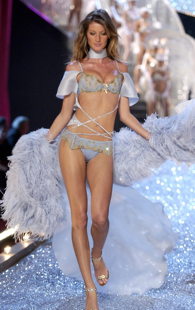 Gisele Bündchen on the 2003 Victoria's Secret Fashion Show Runway in New York