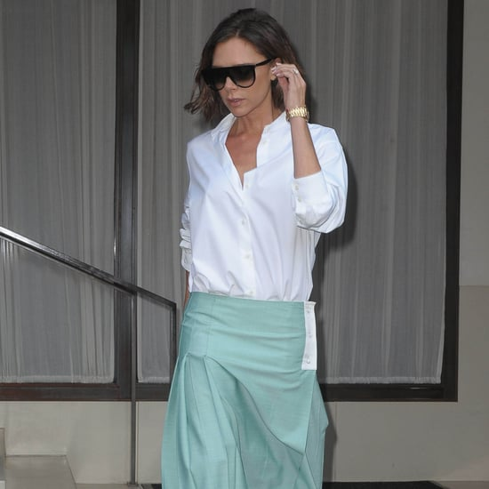 Victoria Beckham's Purple Heels