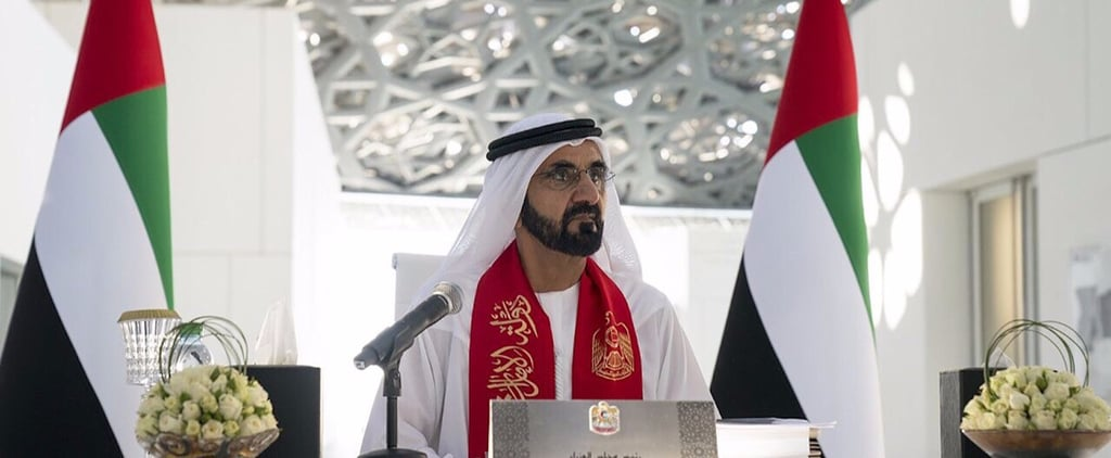Here's Solid Proof the UAE's Sheikh Mohammed Won Twitter This Year