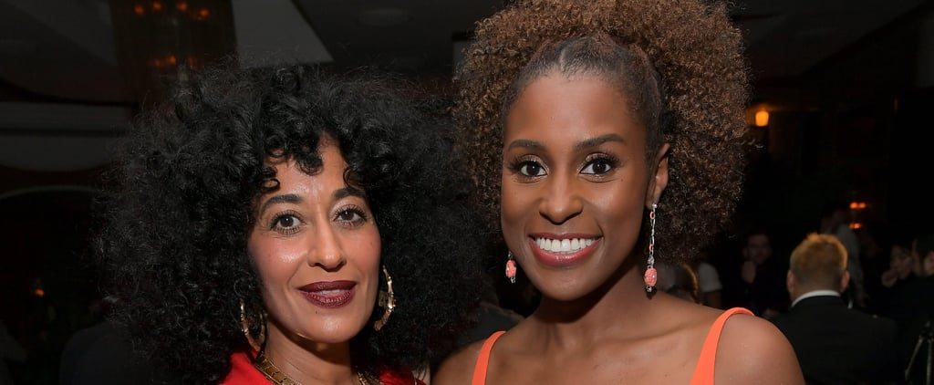 Issa Rae and Tracee Ellis Ross Wrap Their Hair on Flight