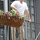 Brad Pitt and Matthew McConaughey Can't Contain Their Neighborly Love