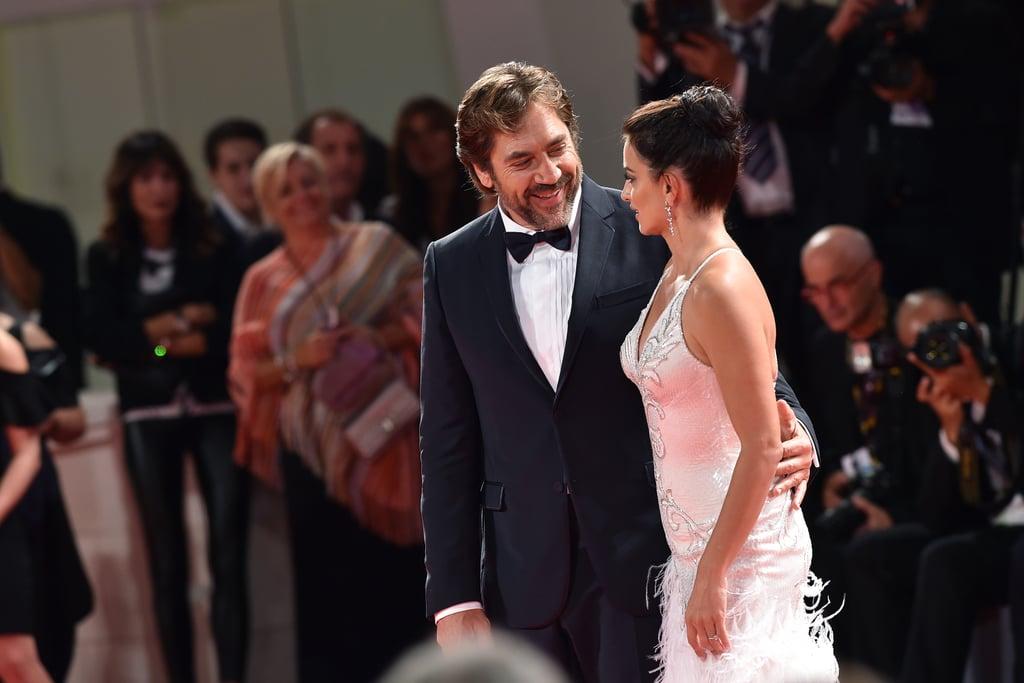 Penelope Cruz and Javier Bardem at Venice Film Festival 2017