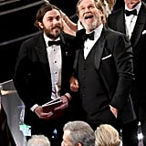 Pictured: Jeff Bridges and Casey Affleck