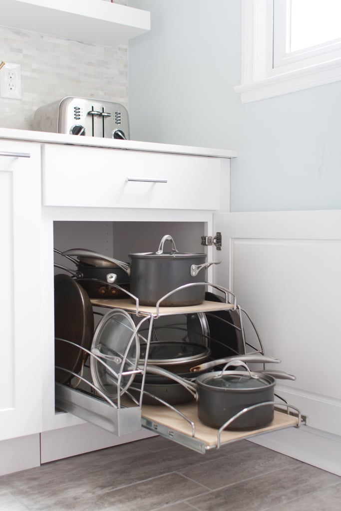 Embrace Multi-Tiered Pull-Out Shelves