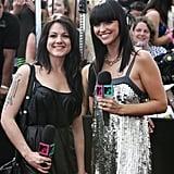 2008: Vanessa Amorosi and Ruby Rose