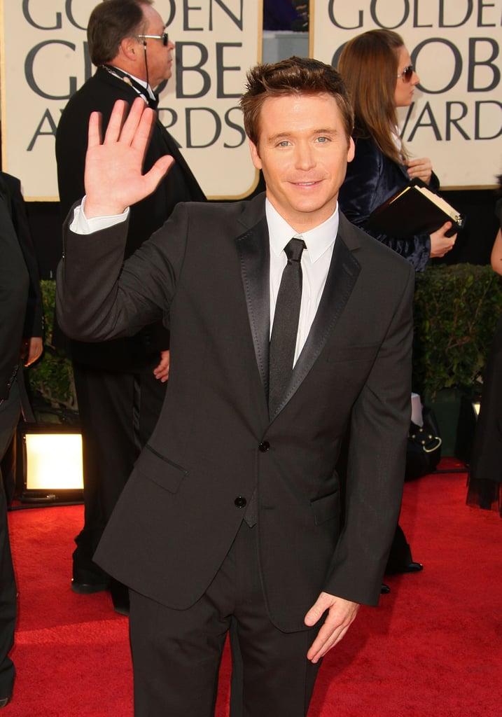 Golden Globes: Men's Arrivals
