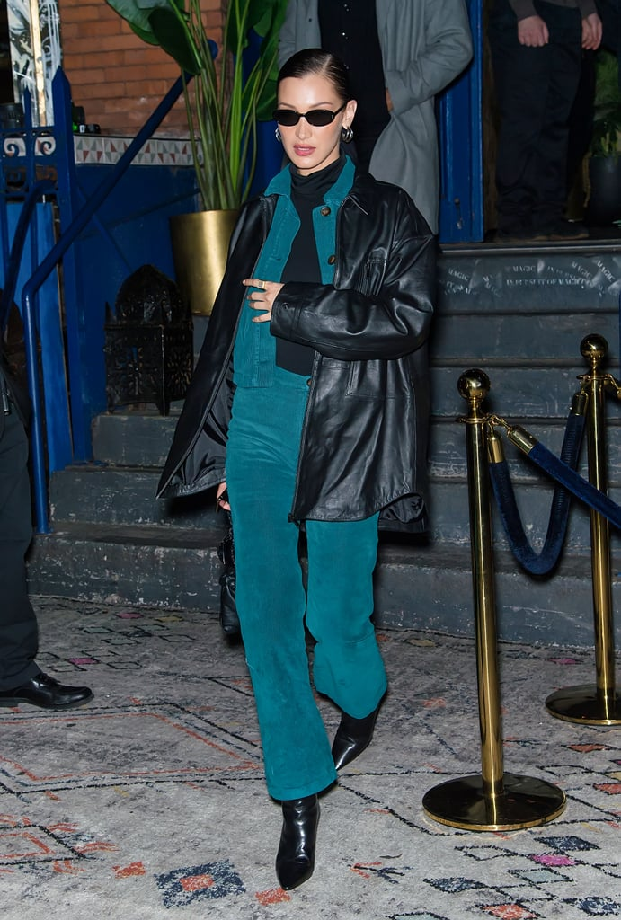 Bella Hadid's Street Style at New York Fashion Week