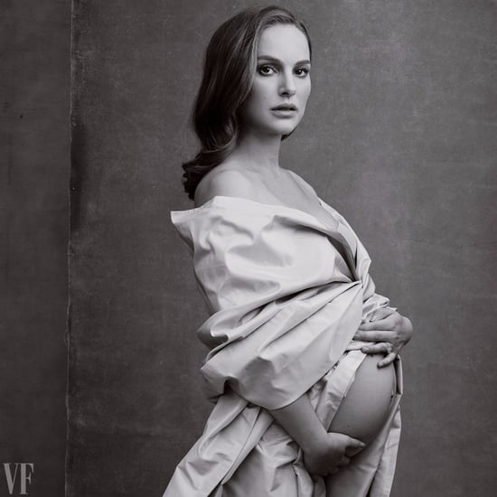 Natalie Portman Vanity Fair Pregnant Photo January 2017