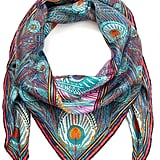 Liberty London Pink Hera Silk Twill Scarf (£195)