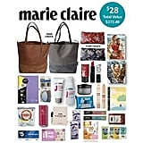 marie clare Showbag ($28) Includes:  Olay Total Effects Night Cream  Floral clutch bag  Karen Murrell Natural Lipstick