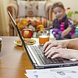Working from home looks a lot less like this . . .