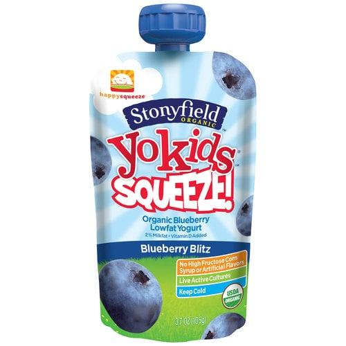 Stonyfield YoKids Yogurt Squeeze