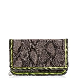 A Clutch With Neon a Touch of Neon