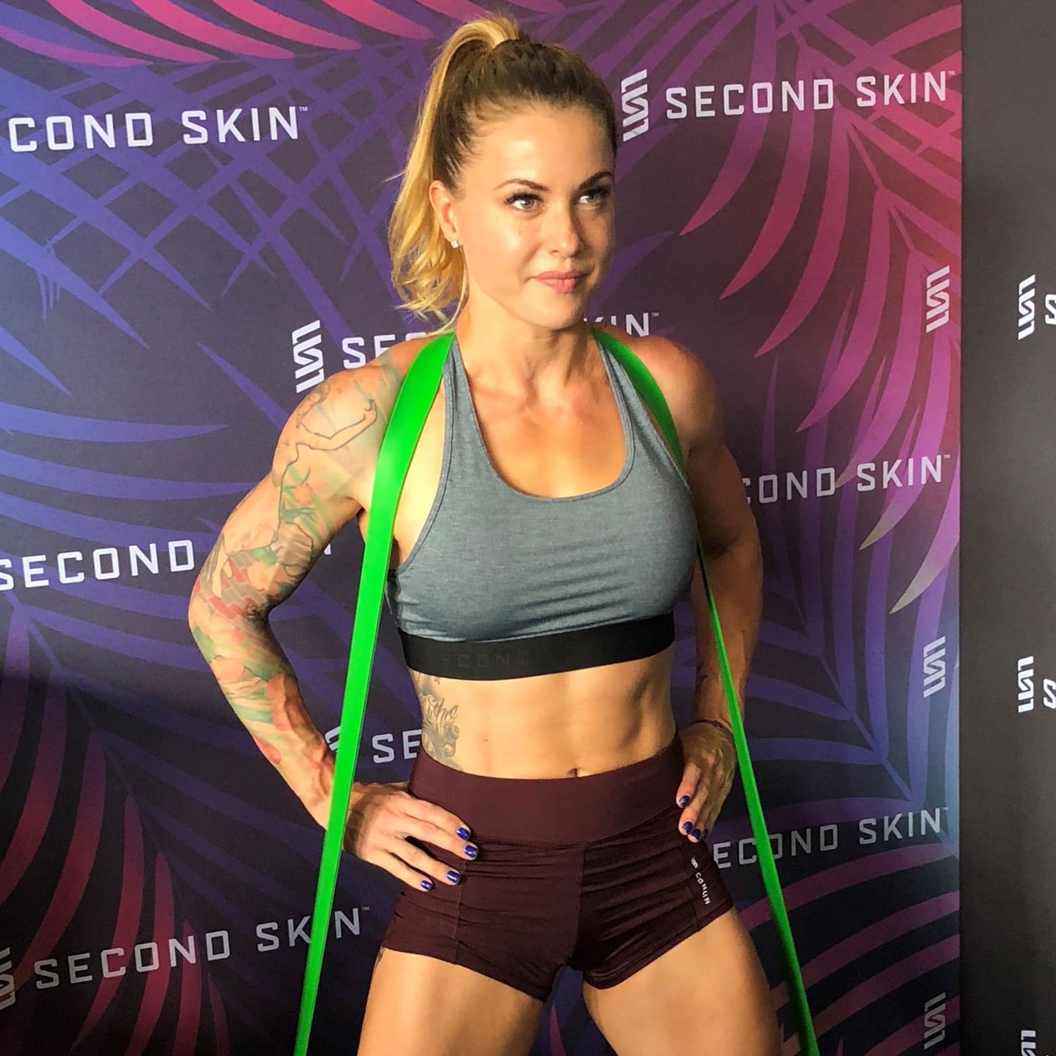 Christmas Abbott Workout.Christmas Abbott S Favorite Workout Moves Popsugar Fitness