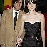 Jason Schwartzman and Zooey Deschanel in 2003