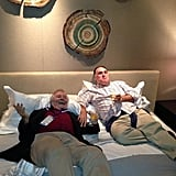 José Andrés gave us an insider look at him spending downtime with Jacques Pépin.  Source: Twitter user chefjoseandres