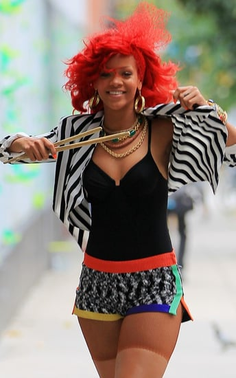 "Rihanna's ""What's My Name?"" Video Shoot"