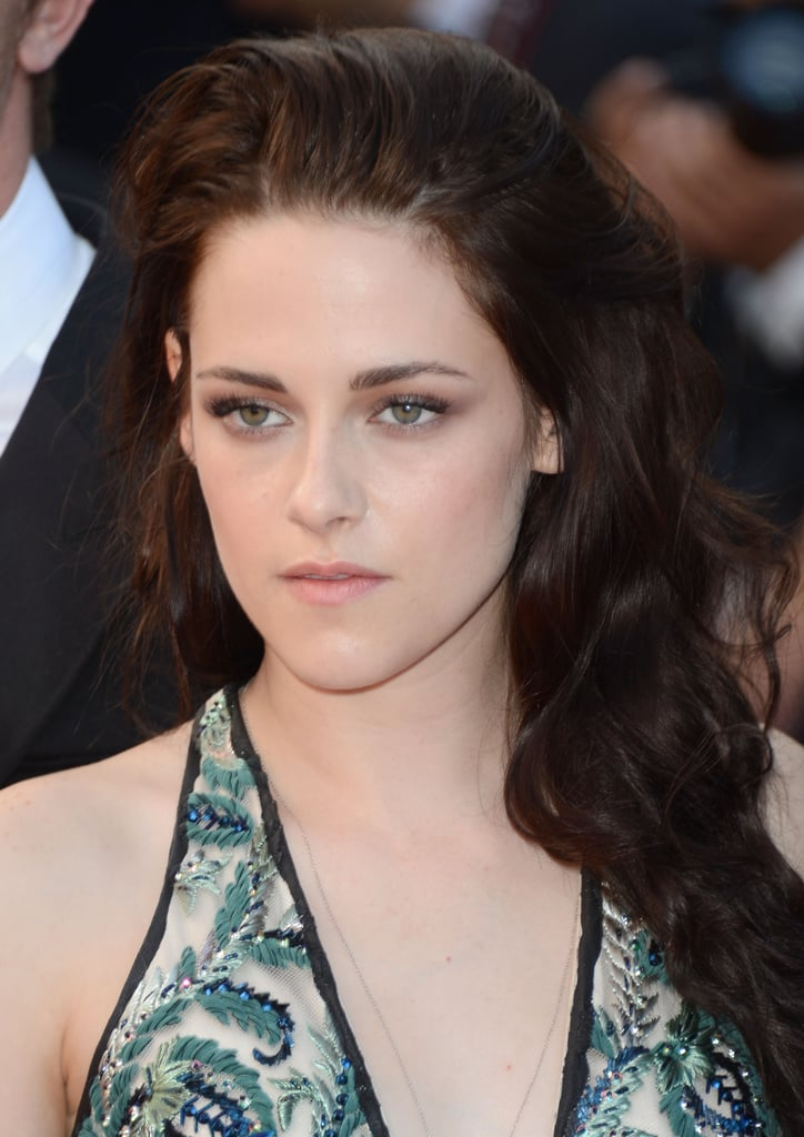 Kristen Stewart posed at the On the Road premiere in Cannes.