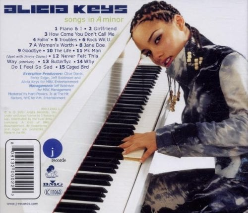 Alicia Keys's Songs In A Minor Album Hairstyle
