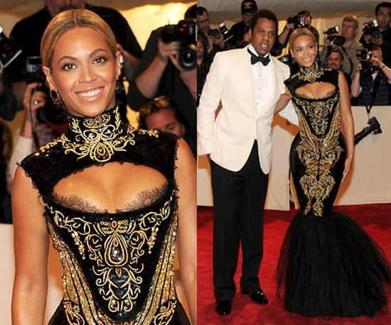 Beyonce in Pucci at 2011 Met Gala