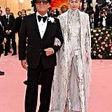 Gigi Hadid in Michael Kors at the Met Gala 2019