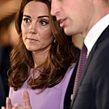 Prince William and Kate Middleton at Mental Health Summit