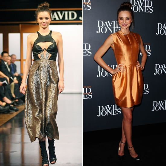 Miranda Kerr Pictures Modelling in David Jones Fashion Show