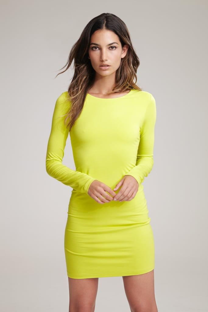 Lily Aldridge For Velvet Beki Zip Back Dress ($139) Source: Courtesy of Velvet