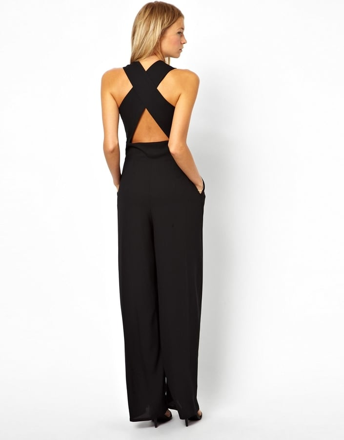 Love Jumpsuit With Cross Back ($75)