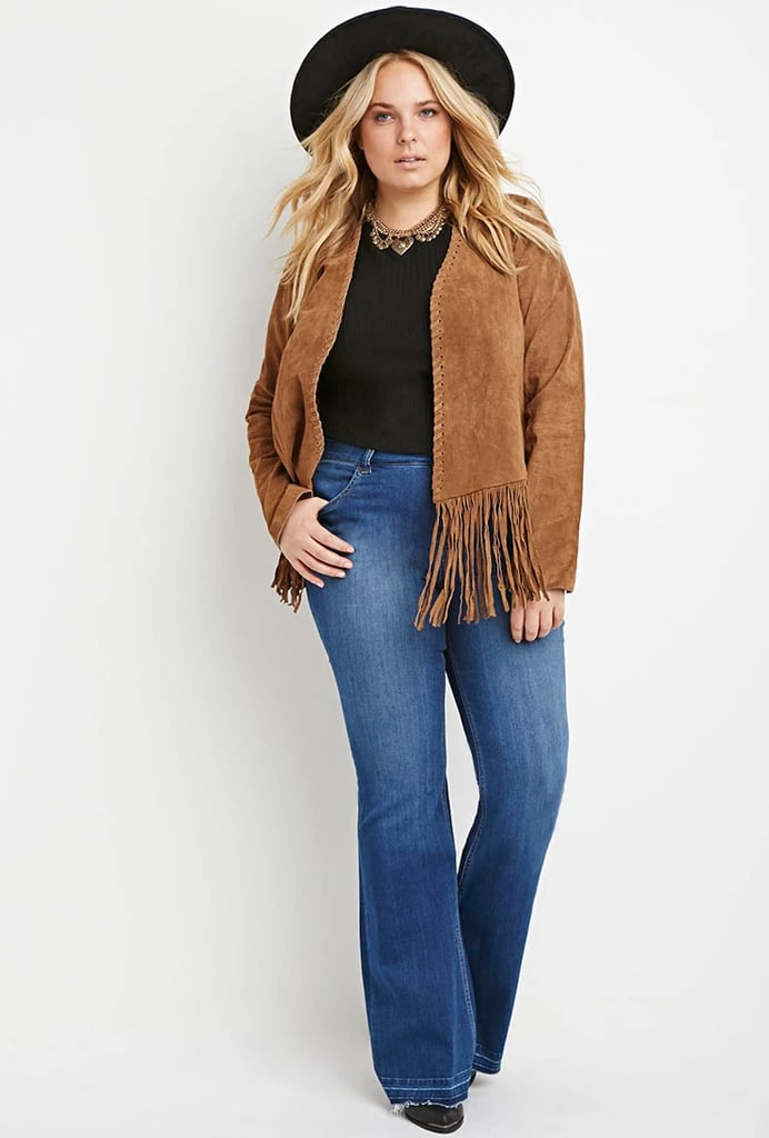 Forever 21Plus Size Frayed Flare Jeans ($15)