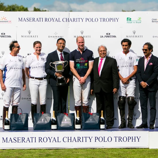 Dubai Business Dhamani Sponsors Polo With Prince William