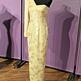 This Catherine Walker ivory satin gown was worn by the princess when she visited Brazil in 1991.