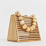 ASOS Design Triangular Bamboo Bag