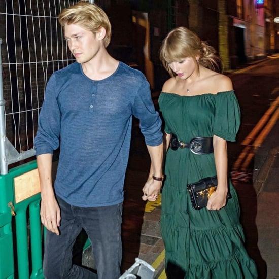 Taylor Swift Green Dress by Free People With Joe Alwyn