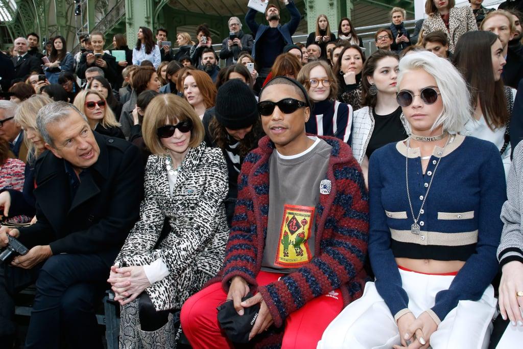 Pharrell Williams and Cara Delevingne