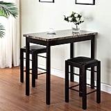 Linon Tavern Collection Three-Piece Table Set
