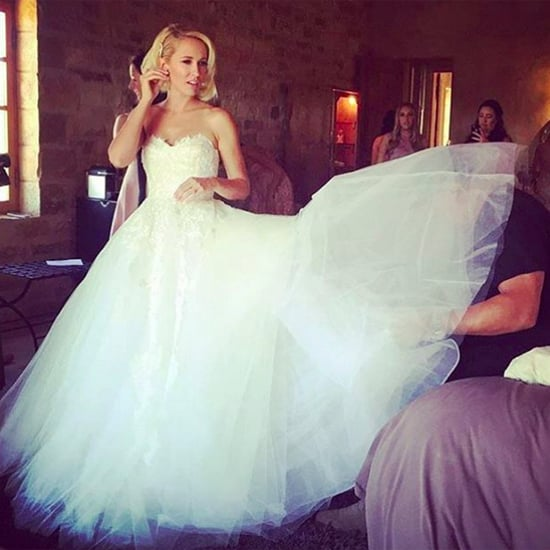 Anna Camp's Wedding Dress