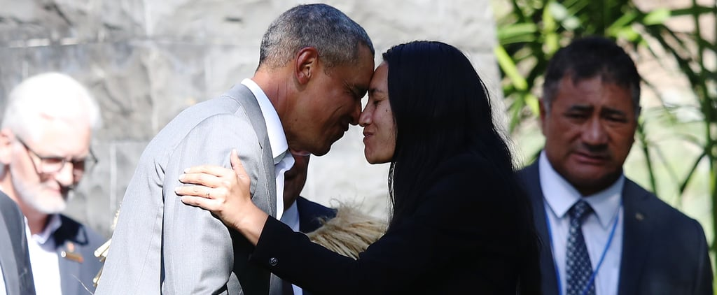 Barack Obama Marked His First Visit to New Zealand With a Maori Welcome Ceremony