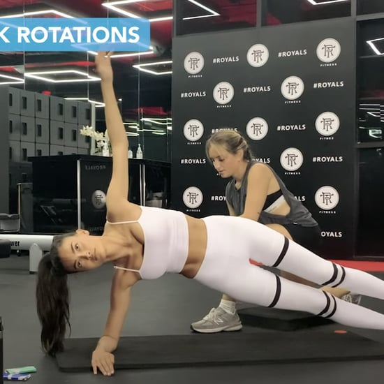 I Tried Model Kelly Gale's 10-Minute Bodyweight Abs Workout