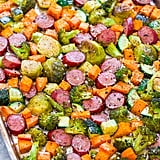 Sheet-Pan Turkey Sausage and Vegetables