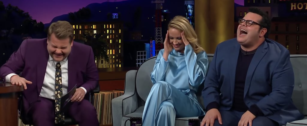 Josh Gad Imitates Idina Menzel on The Late Late Show Video